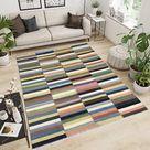 6x8 Afghan Kilim Low Price Rug Boho Kilim Large Flat Weave | Etsy