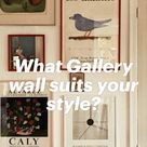 What Gallery wall suits your style?