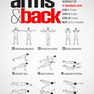 Arms & Back Workout