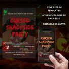 Halloween Party Invitation/ Trick or Treat/ Halloween   Etsy