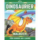 Dinosaurier Malbuch Fr Kinder Ab 4 Jahre: Mein erstes Malbuch fr Mdchen und Junen von 4 bis 8 jahren (Paperback)