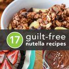 Healthy Nutella Recipes