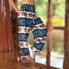 Elephant Harem Pants men Mens Festival pants Festival | Etsy