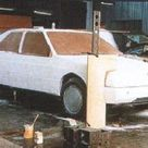 OG   1987 Alfa Romeo 164   Project no.156   In house clay model