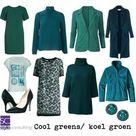 Informatie, kleuren, kleding, make-up, haarkleuren voor het zomer/wintertype