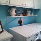 Turquoise Laundry Rooms