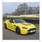 10 inch Photo. Aston Martin V12 Vantage S Roadster, 2016, Yellow