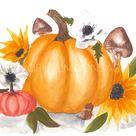 Pumpkins - 8x10