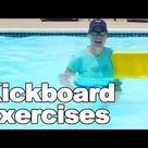 Using a Kickboard for Water Exercise   Ask Doctor Jo