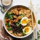 Tahini Miso Ramen with Crispy Tofu – Soom Foods