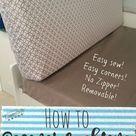 Pop Up Camper Remodel: New Cushions ⋆ Exploring Domesticity