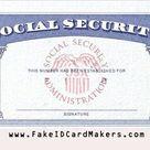 USA Social Security Card Template PSD [SSN PSD Generator]