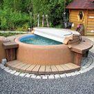 Der Wellnessgarten: Whirlpool, Sauna, Schwimmteich &Co