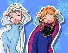 Anna and Elsa Caramelldansen by heeyjayp17 on DeviantArt