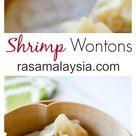 Chinese Shrimp Wontons (Steamed) - Rasa Malaysia