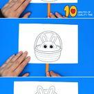 Bunny in Easter Basket Craft