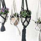 DIY Pflanzenhänger   Upcycling aus alten T shirts   sophiagaleria