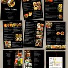Food Menu Template Cocktail Menu Restaurant Menu Thai Menu Template French Menu Restaurant Takeout Menus Menu With Food Images