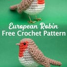 European Robin Amigurumi - Free Crochet Pattern