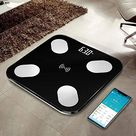 NEWTOWN-Bluetooth Body Fat Scale with Free iOS and Android App,Wireless Digital Body Fat Weight Scale for Body Weight, Water,Muscle Mass, BMI, BMR, Bone Mass and Visceral Fat - Best Sellers News