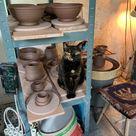 Cereal Bowl - Painted Ceramic Stoneware - Handmade Studio Pottery 1181