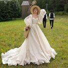 Princess wedding dress LISSA with detachable sleeves • Princess wedding dress • A-line wedding dress •