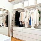 Idee Rangement Vetement Petite Chambre