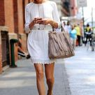Womens White Dress