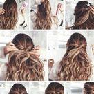New Hairstyles For Medium Length Hair Tutorial Bohemian 50+ Ideas