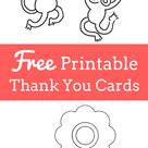 Printable Thank You Cards | Highlights