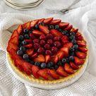 Fruit Custard Tart Recipe