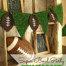 SUPER BOWL PARTY DECOR and FREE FOOTBALL SUBWAY ART - MyCupRunnethOverBlog