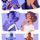 Zodiac Princes but they're human part 1 by looji on DeviantArt
