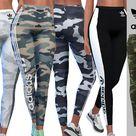 Pinkzombiecupcakes' Adidas Camo Athletic Pants