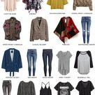 Fall and Winter Capsule Wardrobe