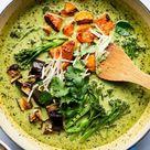 Vegan Thai green curry - Lazy Cat Kitchen