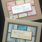 Create Your Own Card Kit - 6 Get Well/Birthday Cards - Stampin' Up