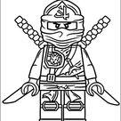 Coloring Lego Ninjago 2