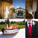 Red Rustic Weddings