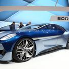 Borgward Isabella concept brings a storied name back from the past