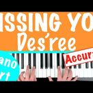 How to play 'KISSING YOU' - Des'ree (ALL PARTS FREE) | Piano Chords Tutorial