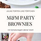 M&M Party Brownies - Fudgy, saftig und super einfach!