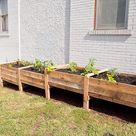 Pallet Garden Box