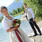 Trachtenhochzeit   Hochzeitsdirndl, Bräutigam & Gesellschaft   Wimmer schneidert