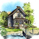 Plan 43006PF: Petite Cottage