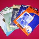 Vintage 1930s - 1950s Country Western Sheet Music - Choice of 4 Titles - from DustyMillerAntiques