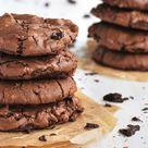 Supersofte Schoko-Brownie-Cookies – Knuspergeburtstagsgruß fürs Knusperstübchen