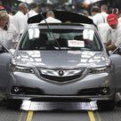 2015 Acura TLX production gets underway in Ohio