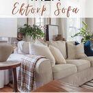 Ikea Ektorp Sofa Review-My Honest Opinion