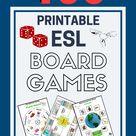Printable ESL Board Games for Kids